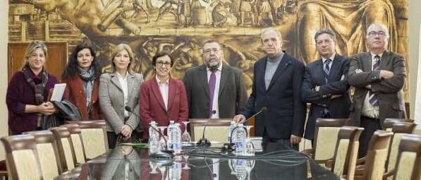 Los responsables de las asociaciones presentaron en el Ateneo Mercantil de Valencia la nueva entidad. (Foto-AVAN).