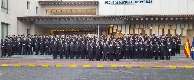 Más de 130 altos responsables de la Policía Nacional y de policías locales de toda España asisten a los tres paneles en los que se divide la convención.