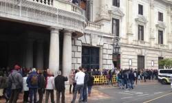 Más de 5.000 personas accedieron al balcón del Ayuntamiento en sólo tres días.