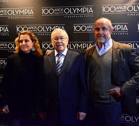 María Ángeles Fayos, Enrique Fayos padre y Enrique Fayos hijo. (Foto-R.Fariña).