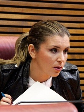 Mari Carmen Sánchez, diputada de Ciudadanos.