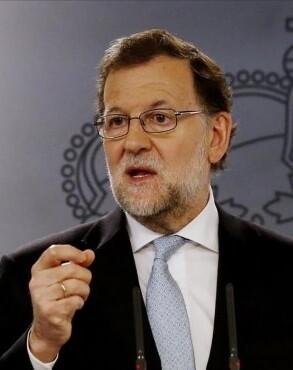 Mariano Rajoy, presidente del Gobierno en funciones y presidente del Partido Popular.