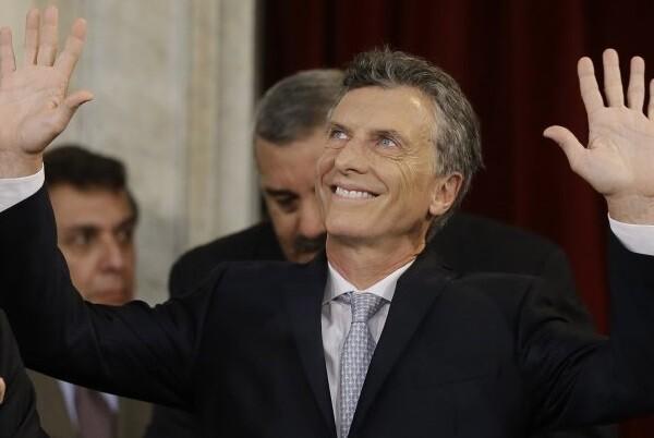 Mauricio Macri ya es el nuevo presidente de la República Argentina.