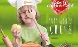 Mis hijos entran a la cocina con 'MasterChef Junior Grandes recetas para pequeños Chefs'.