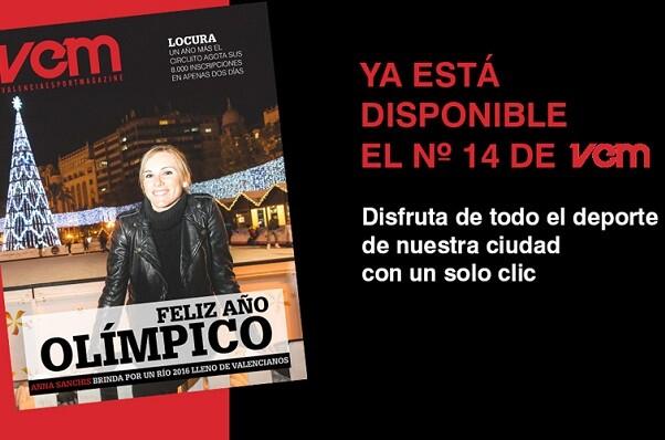 Nuevo número para la revista VEM–Valencia Esport Magazine de Fundación Deportiva Municipal.