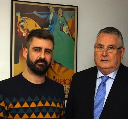 Pere Fuset y Enric Esteve.
