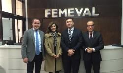 Reunión FEMEVAL con ANA BOTELLA PSPV PSOE