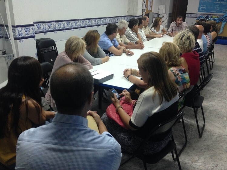 Reunión PP Burriana en sede