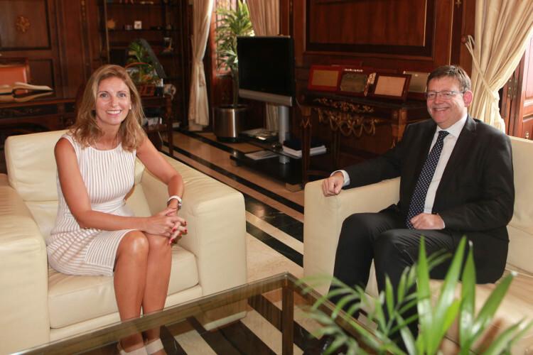 Reunión con Ximo Puig 1