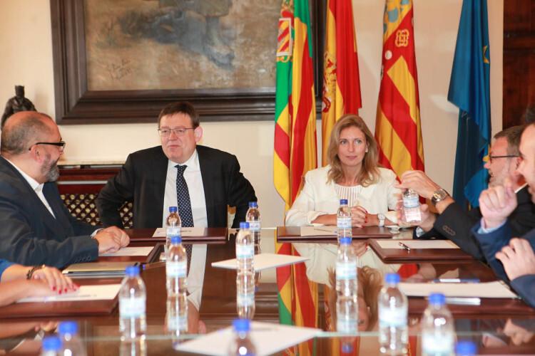 Reunión con Ximo Puig 2