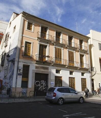 Sede del Centro Excursionistas de Valencia. (Foto-Manuel Molines).
