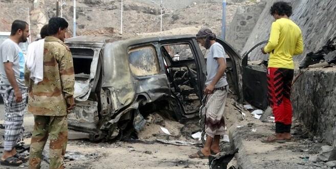 Testigos citados por los medios locales aseguran que la explosión fue causada por una bomba dirigida.