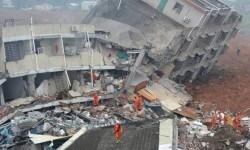 Un corrimiento de tierra al sur de China deja al menos 85 desaparecidos.