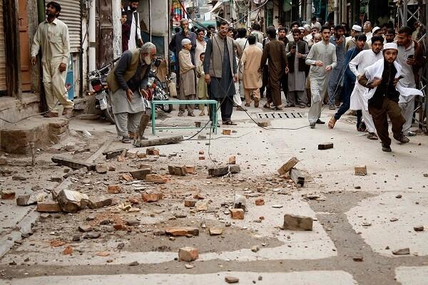 Un terremoto de magnitud 6,3 deja cuatro fallecidos y decenas de heridos en Afganistán y Pakistán.