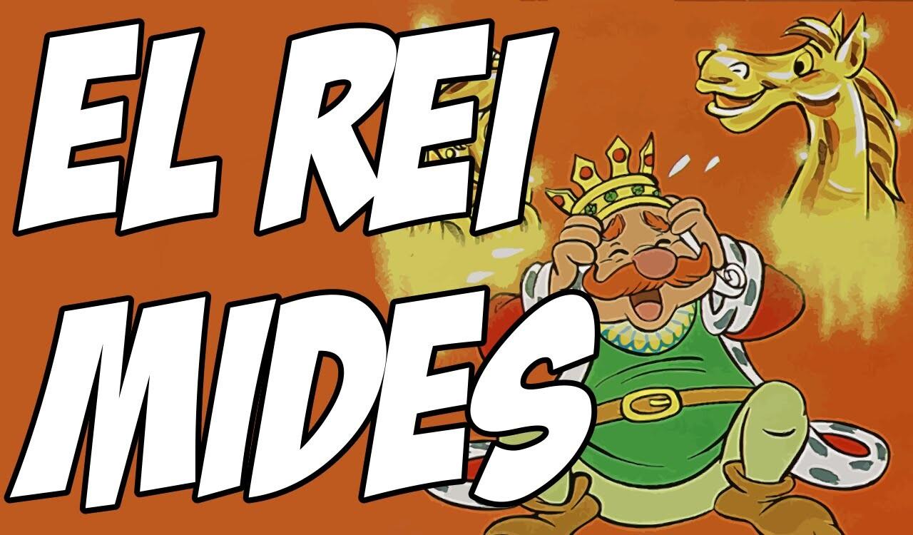El rei Mides, contes infantils