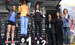 entrega premios maraton fem