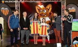 2015-12-26,  Inauguración Stand Valencia CF en Expojove. Feria de muestras Valencia.