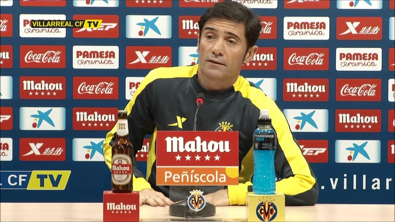 Marcelino anuncia que Mateo Musacchio reaparecerá hoy ante el Huesca
