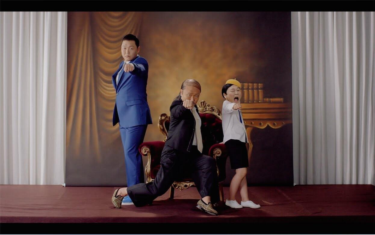 "PSY estrenó ""Daddy"" y arrasó en YouTube"