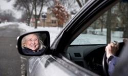 Carol Sue Johnson, de 73 años, se unió a Uber en Minneapolis