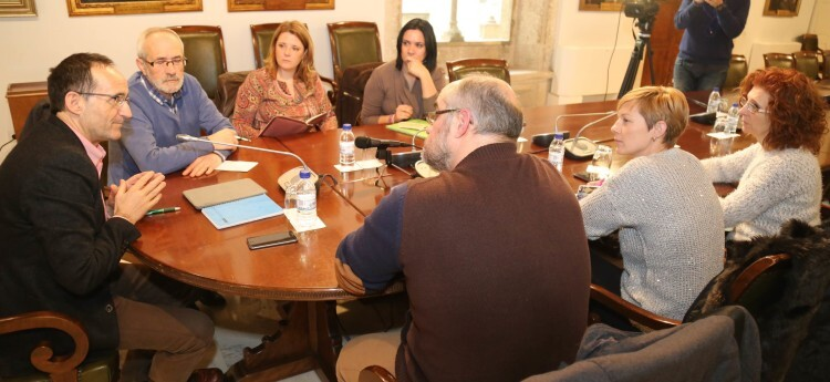 1.- Nofuentes se Reune con alcaldes de la Ribera 06