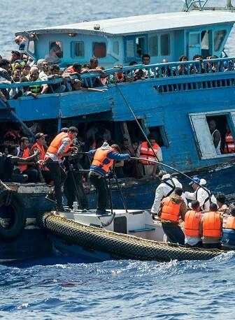 A pesar del cese de operaciones de MSF en el Mediterráneo, la organización sigue preparada para intervenir  (Foto-Médicos Sin Fronteras).
