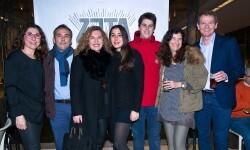 Anabel Navas, Miguel Hernández, CArmen Romero, Marta de la Iglesia, Jorge Pardo, Angela Valero de Palma y Christian Jardel