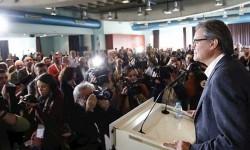 Artur Mas reconoce que 'ahora formaba más parte del problema que de la solución'.