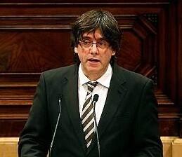 Carles Puigdemont, el nuevo presidente de la Generalitat catalana.