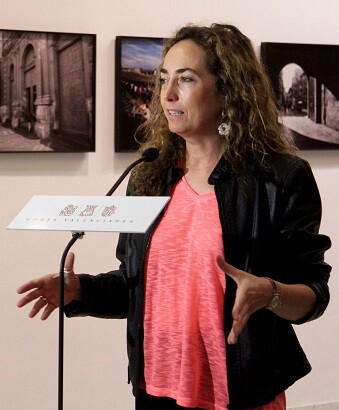 Carolina Punset. (Foto-Valencia Noticias).