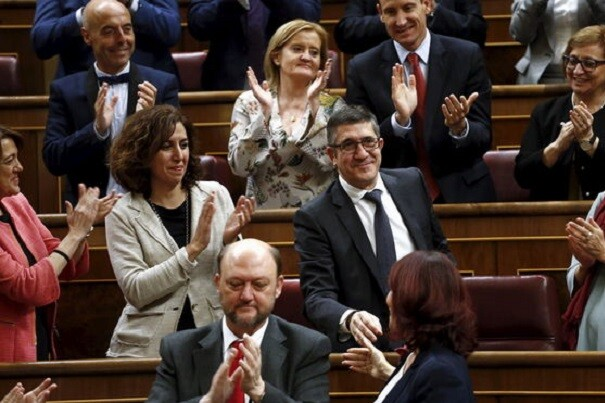 Comienza la legislatura más plural del Congreso con Patxi López como presidente del hemiciclo.