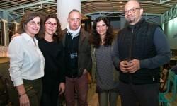 Cova Morales, Anabel Navas, Jose Castellón, Angela Valero de Palma y Paco Alonso