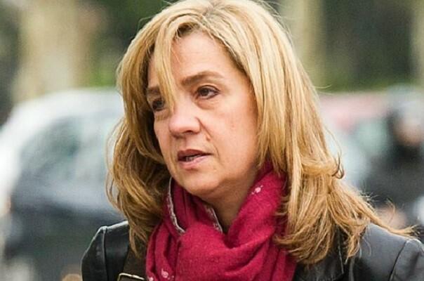 Cristina de Borbón seguirá en el banquillo por dos delitos fiscales en el caso Nóos.