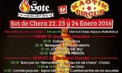 Cuarta edición para el Kaotik Circus Festival de Sot de Chera. (Foto-Valencia Noticias).