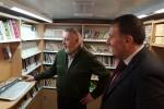 El Bibliobús de la Diputación de Castellón mantiene su servicio en los pueblos del interior.