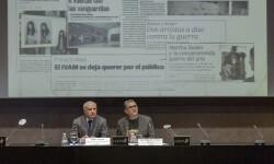 """El IVAM incrementó un """"48 por ciento el número de visitantes en 2015"""" según indicó su director José Miguel G. Cortés."""