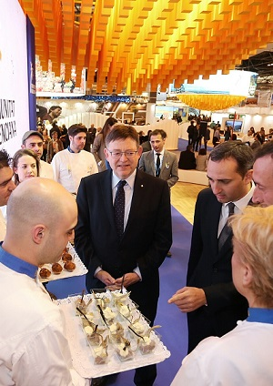 El President destacó la importancia del sector turístico para los valencianos.