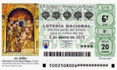 El Sorteo Extraordinario de El Niño de Lotería Nacional repartirá un total de 630 millones de euros el próximo 6 de enero.