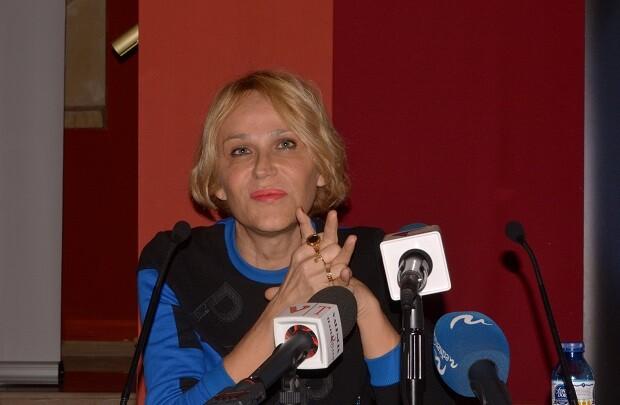 """El Talía recibe el nuevo trabajo unipersonal de Antonia San Juan que huye del """"humor blanco""""."""