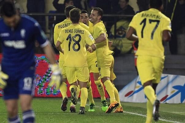 El Villarreal obtiene tres puntos de oro al vencer al Granada (1-0).