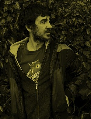 El cantante Luis Prado.