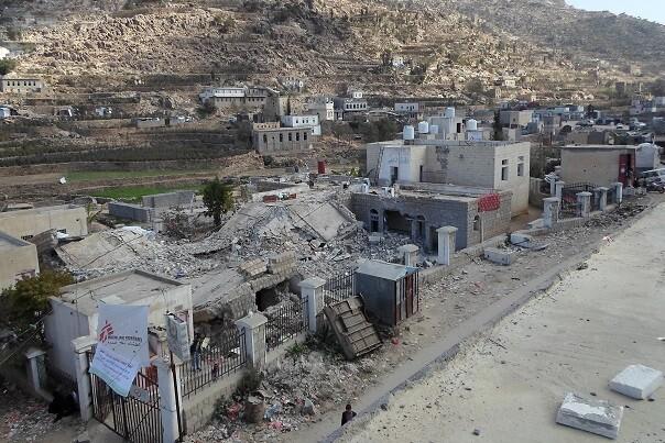 El número de muertos por el ataque al hospital de MSF en Yemen asciende a seis. (Foto-MSF).