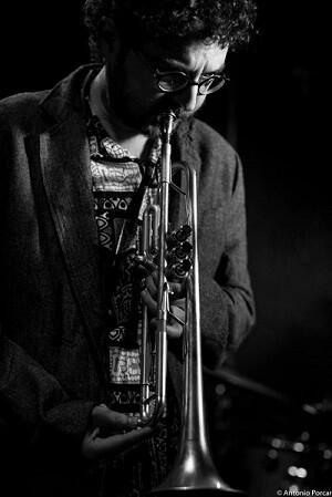 El trompetista Voro García. (Foto-Antonio Porcar).
