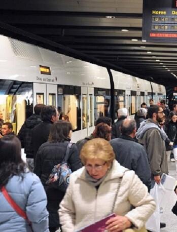 En la noche del día 5, Metrovalencia reforzará y prolongará su servicio.