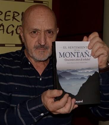 Es alpinista y escritor Sebastián Álvaro. (Foto-R.Fariña-Valencia Noticias).