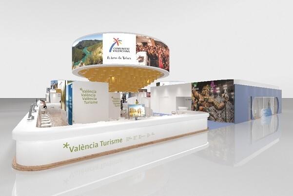 Estand València Turisme en Fitur 2016.