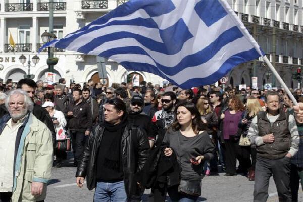 Huelga de 24 horas de los medios de comunicación griegos.