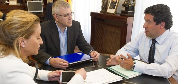 Javier Moliner se reunió con la empresa RYANAIR.