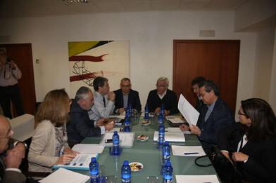 Joan Ribó, anunciando hoy la voluntad del Equipo de Gobierno de acatar la decisión del Tribunal Superior de Justicia de Valencia.