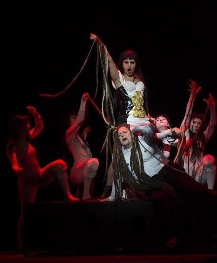 La ópera más conocida de Saint-Sens ofrece una partitura de orquestación suntuosa, compleja y exigente (Foto-Tato Baeza).